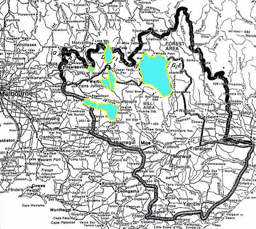 latrobe valley map